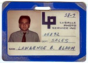 Larry Bloom, LaSalle Photo Service